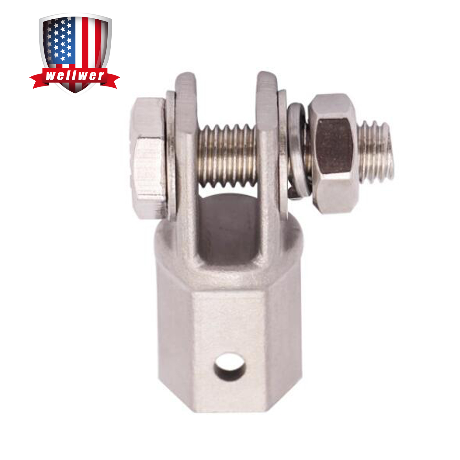 Katigan Scissor Jack Adaptor 1//2 Inch for Use with 1//2 Inch Drive or Impact Wrench Tools IJA001